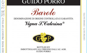 Barolo DOCG Vigna Santa Caterina